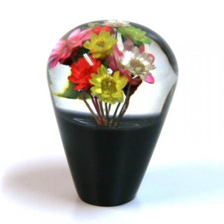 Suichuuka Dried Flowers JDM 12x1.25 (10x1.25 adater included) 60mm Black Shift Gear Knob