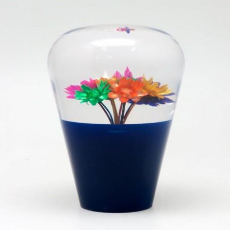 Suichuuka Blue/Clear Dried Flowers JDM 60mm Shift Gear Knob