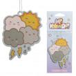 Mi Kawaii Weather JDM hanging air freshener - Raspberry Scent