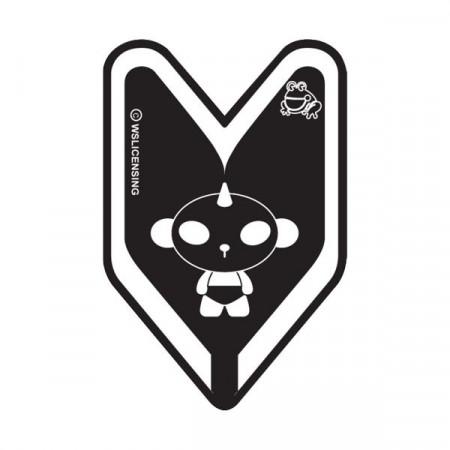 Treefrog Young Leaf Panda J9 Black Squash Air Freshener