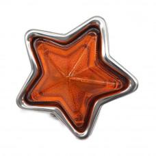 JDM Orange Star Side Marker Indicator Lamps - 90mm 24V5W