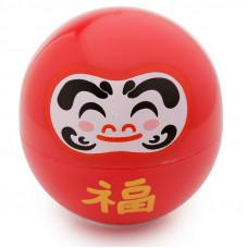 Japanese Daruma Moisturising Lip Balm - Red / Cherry