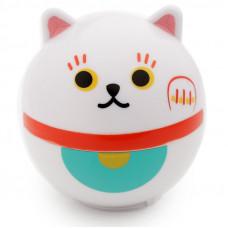 Maneki Neko White JDM Lucky Cat Moisturising Lip Balm - Vanilla