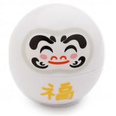 Japanese Daruma Moisturising Lip Balm - White / Vanilla