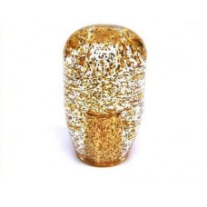 JDM 90mm Clear Gold Glitter 12x1.25 Shift Knob
