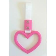 JDM Small Pink Heart Tsurikawa