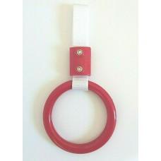 JDM Small Red Circle Tsurikawa