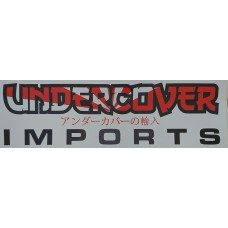 Undercover Imports Drift Logo Sticker Decal - Large 30x10cm