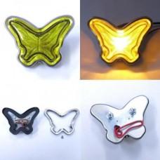JDM Yellow Butterfly 24V5W Side Marker Lamps