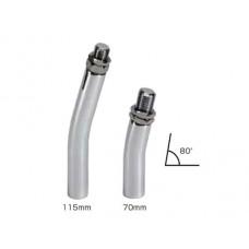 JDM shift gear knob 70mm Extension L Bend Bar - 12x1.75