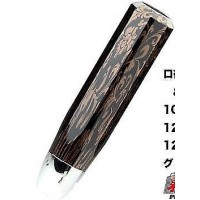 JDM VIP Black/Bronze Marble Effect 200mm Shift Knob - 12x1.25