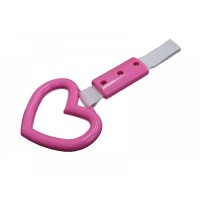 JDM Pink Heart Tsurikawa - Train / Bus Handle