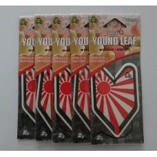 Treefrog Young Leaf Wakaba Sunrise White Peach Scent Air Freshener Bundle (5 x air fresheners)